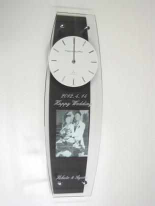 ブライダル写真入り時計25