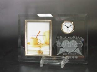 ブライダルフォトフレーム時計16