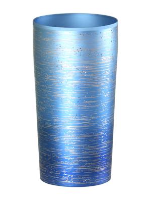 チタン二重タンブラー 涼Lブルー