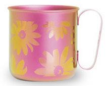 マグカップ フラワー(ピンク)