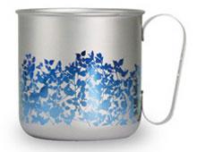 マグカップ ガーデンリーフ(グラデーションブルー)