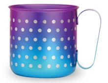 マグカップ 水玉(ブルーパープル)