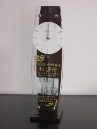 還暦プレゼントの写真入り時計