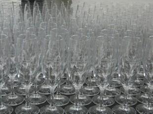 企業の記念グラス