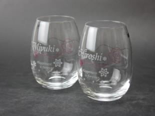 ミチコロンドンペアワイングラス