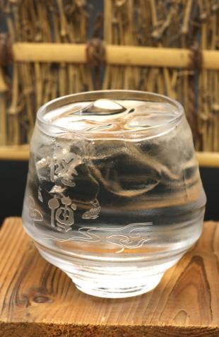 名入れ焼酎グラス「香」