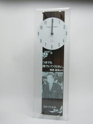 還暦祝いの振り子時計