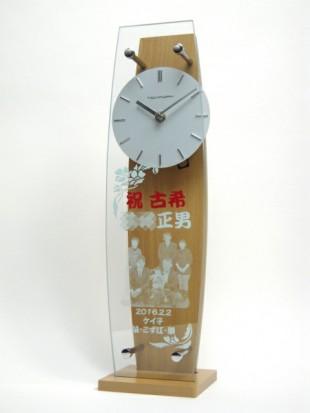 古希祝いの振り子時計