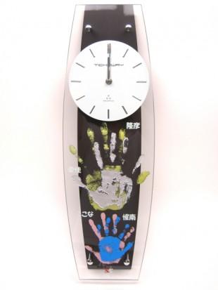新築祝いの手形入り掛け時計