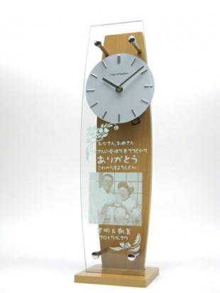 写真入りの時計